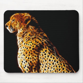 Cheetahs stance mouse mat