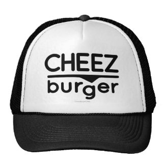 Cheezburger Logo (black) Cap