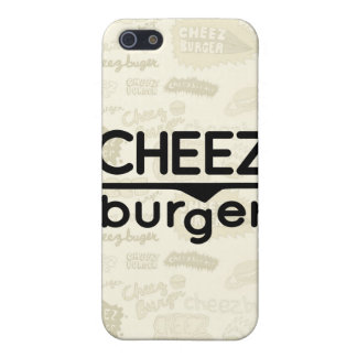 Cheezburger Logo (black) Case For The iPhone 5