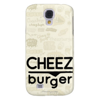 Cheezburger Logo (black) Galaxy S4 Case
