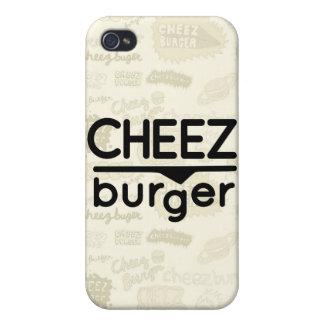 Cheezburger Logo (black) iPhone 4 Case