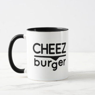 Cheezburger Logo (black) Mug