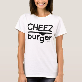 Cheezburger Logo (black) T-Shirt