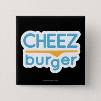 Cheezburger Logo (color) 15 Cm Square Badge