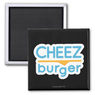 Cheezburger Logo (color) Square Magnet