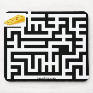 Cheezy Maze Mouse Pad