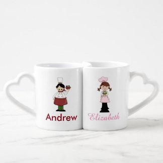 Chef and Pastry Chef Couples Mug Set Lovers Mug