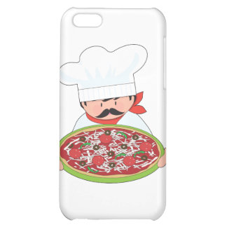 Chef and Pizza iPhone 5C Covers
