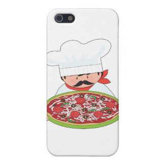 Chef and Pizza iPhone 5/5S Covers