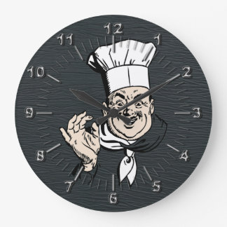 Chef approve large clock