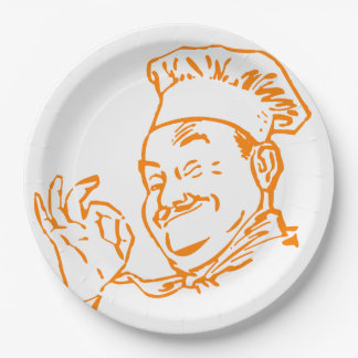 Chef approved paper plate