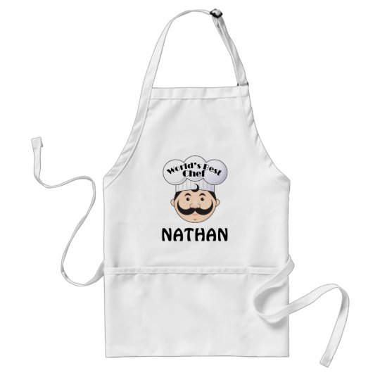 Chef Apron Worlds Best Design Personalised