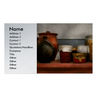 Chef - Aunt Bessie's mantle Business Card Template