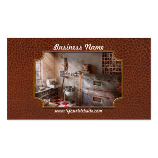 Chef - Baker - The bread oven Business Card Template