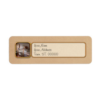 Chef - Baker - The bread oven Return Address Label