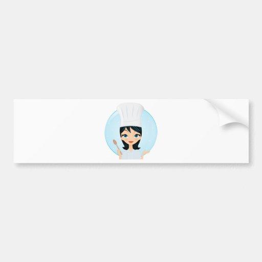 Chef Bumper Sticker