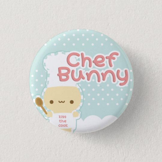 Chef Bunny Button
