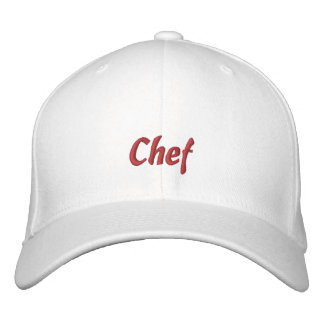Chef Cap / Hat Embroidered Baseball Caps