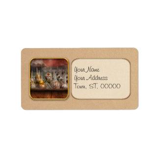 Chef - Caramel apples for sale Address Label