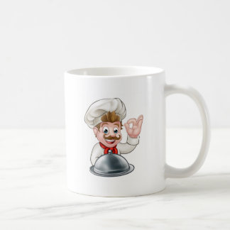 Chef Cartoon Character Coffee Mug