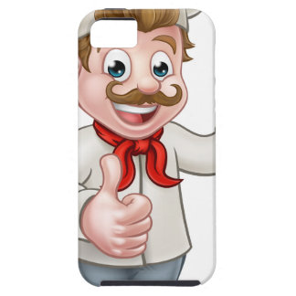Chef Cartoon Character Mascot Case For The iPhone 5