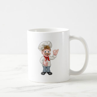 Chef Cartoon Character Mascot Coffee Mug