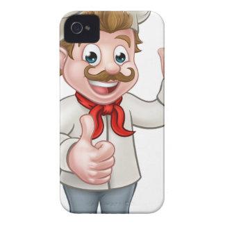 Chef Cartoon Character Mascot iPhone 4 Case