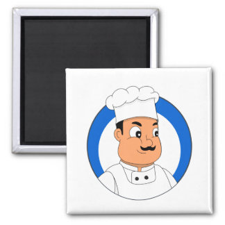 Chef cartoon magnet