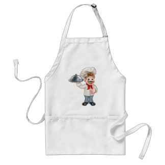 Chef Cartoon Standard Apron