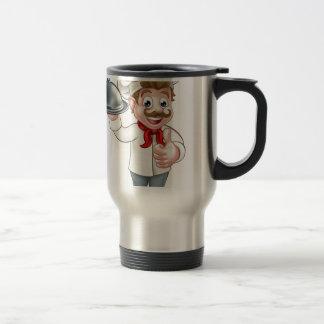 Chef Cartoon Travel Mug