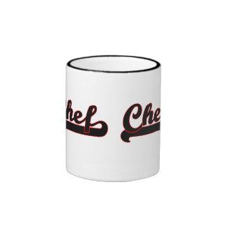 Chef Classic Job Design Ringer Mug