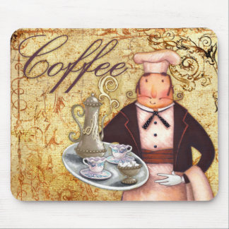 Chef Coffee Mouse Mat