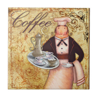 Chef Coffee Tile
