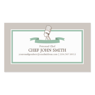 Chef Cook Baker Business Card