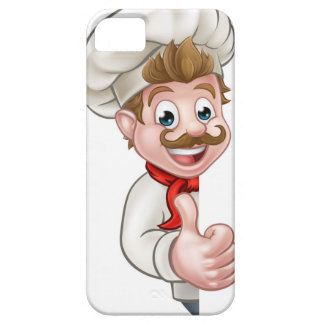 Chef Cook Cartoon Mascot Barely There iPhone 5 Case