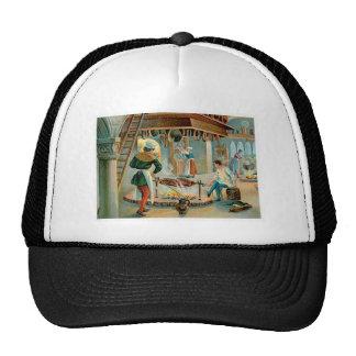 Chef Cook Vintage Food Ad Art Mesh Hat
