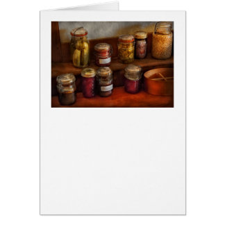 Chef - Country - Preserving History Greeting Card
