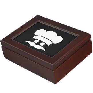 Chef custom color keepsake box