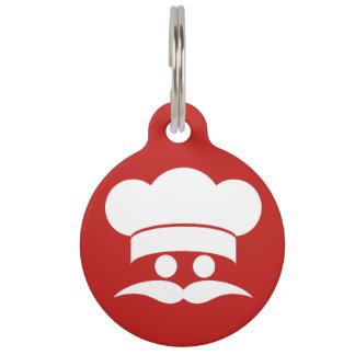 Chef custom color pet tags