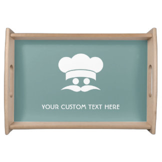 Chef custom color serving trays