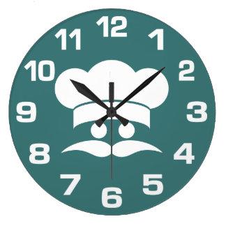 CHEF custom color wall clocks