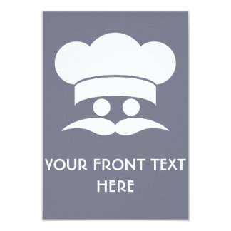 CHEF custom invitations