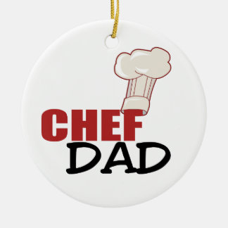Chef Dad Christmas Ornament