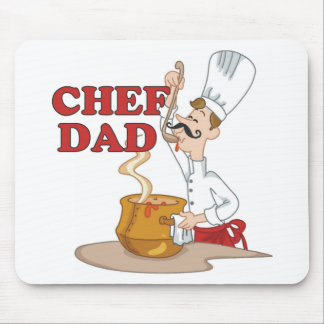 Chef Dad Father Gift Mouse Pad