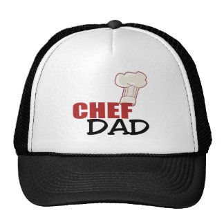Chef Dad Gift Mesh Hat