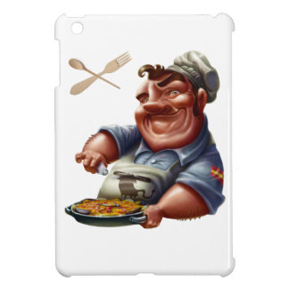 Chef de Cocina Española con Paella - M1 iPad Mini Coberturas