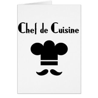 Chef de Cuisine Card