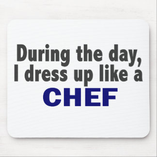 Chef During The Day Mouse Mat