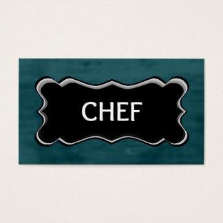 Chef Elegant Name Plate
