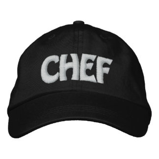CHEF EMBROIDERED HAT